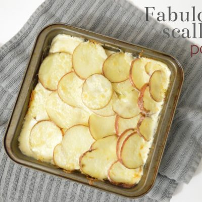 Fabulously Scalloped Potatoes