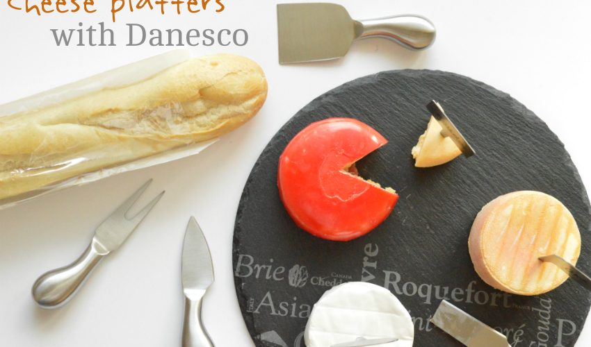 Cheese Platters With Danesco