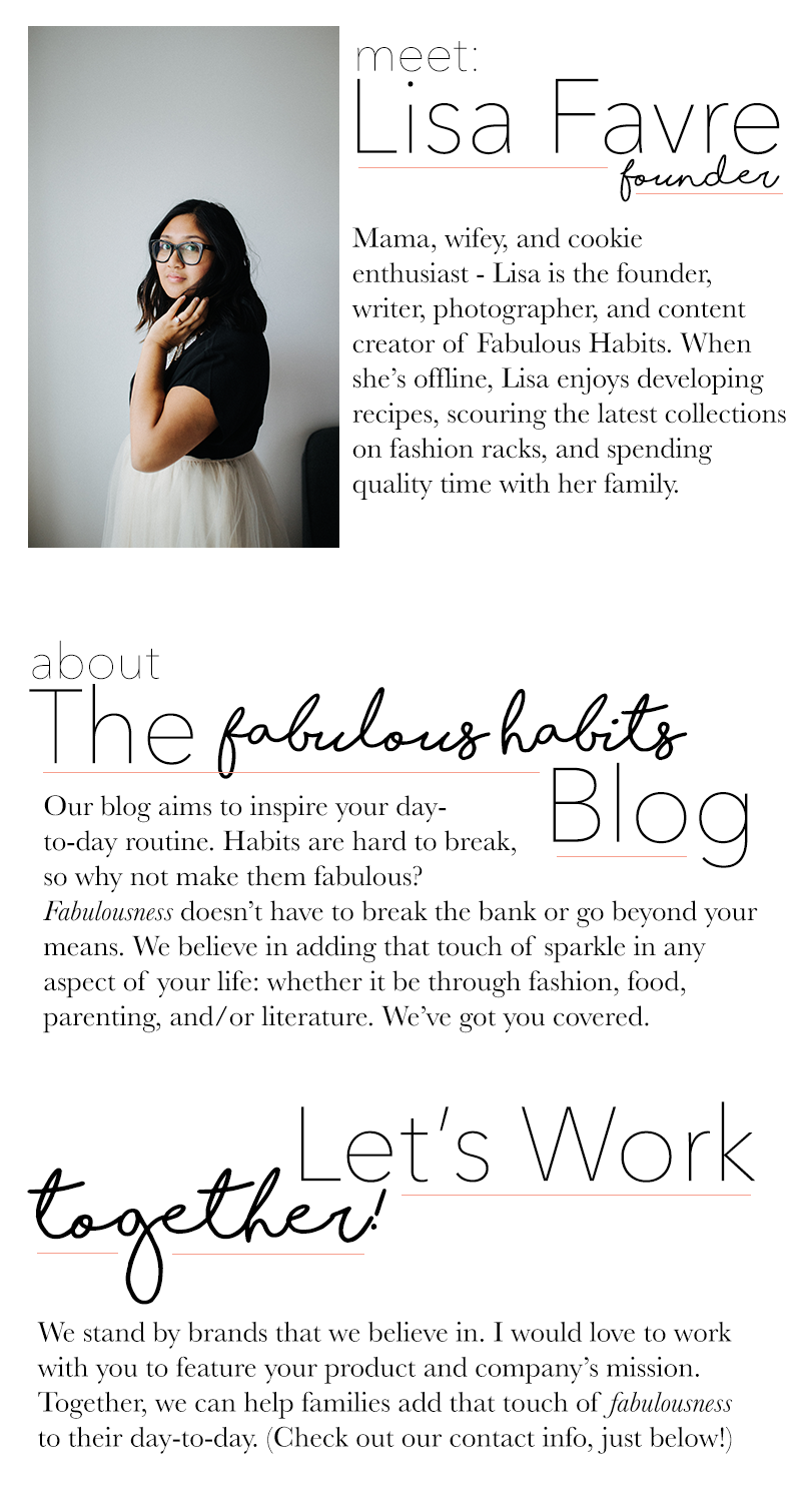 Learn more about Fabulous Habits!