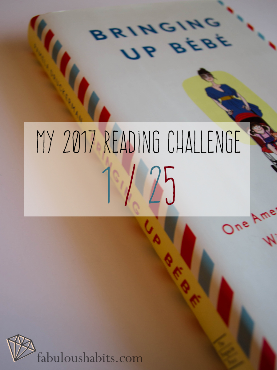 The first book of this year's reading challenge.