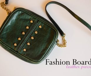 Today's focus: leather purses - my favorite fashion accessory