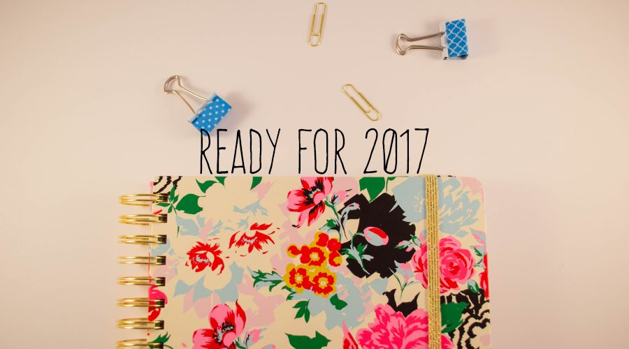 All prepped and ready for a new year!