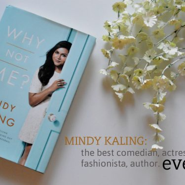 Book review on Mindy Kaling's 'Why Not Me?'