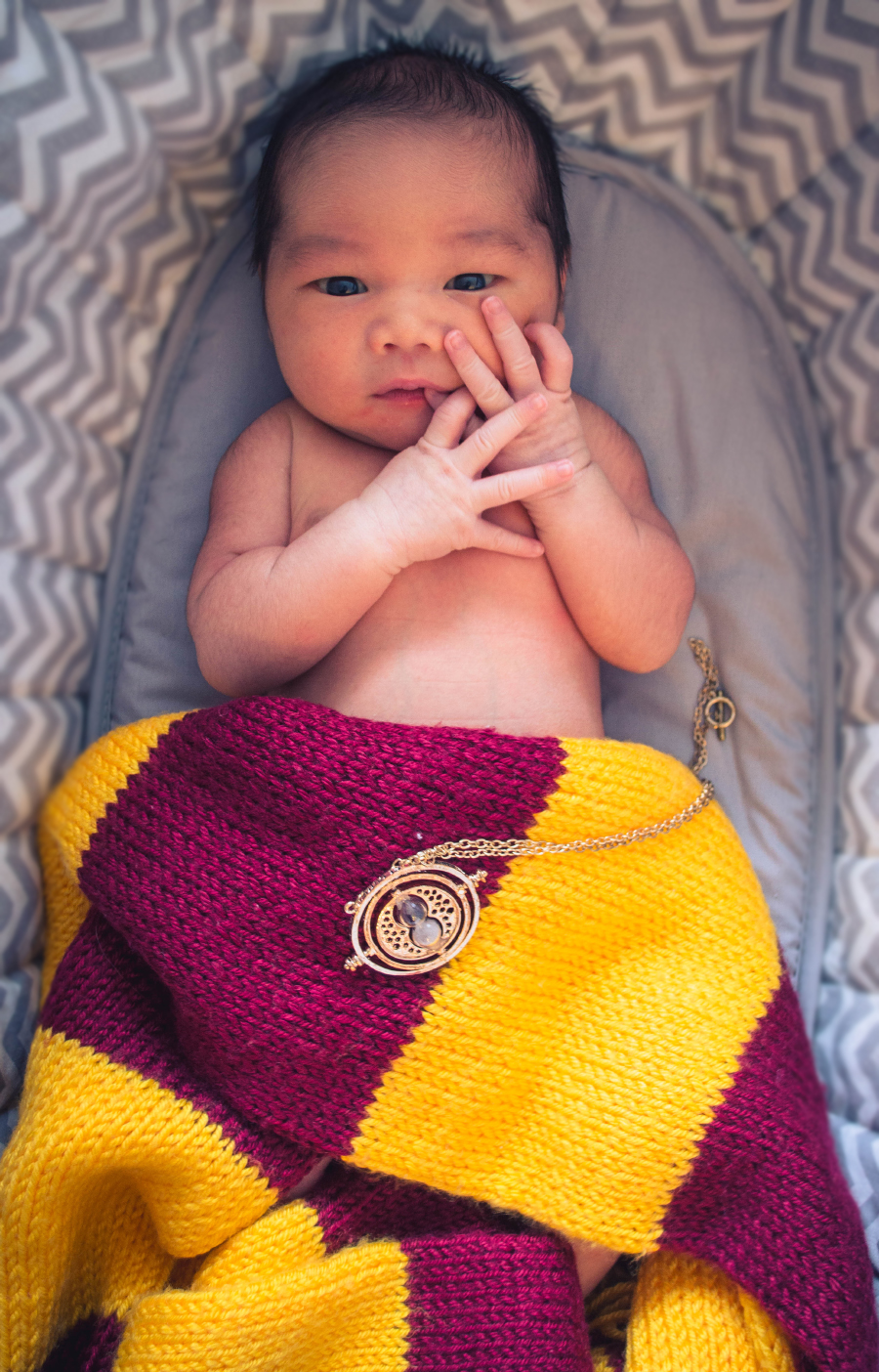 Harry Potter Baby Photoshoot: Leo's first photoshoot in the wizarding world!