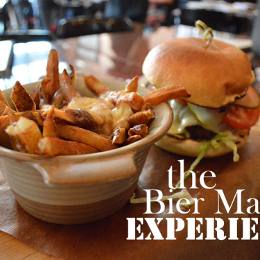 Dining at Bier Markt is an experience all on itself.