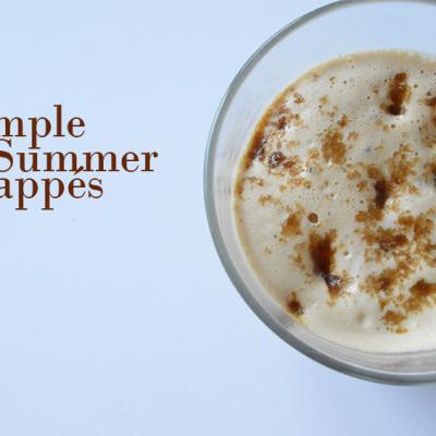 Simple Summer Frappés