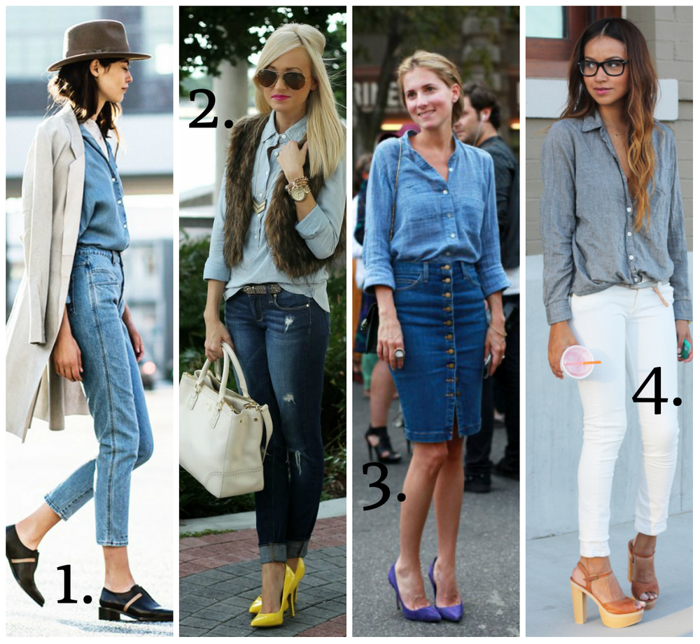 Fashion Board: Denim on Denim