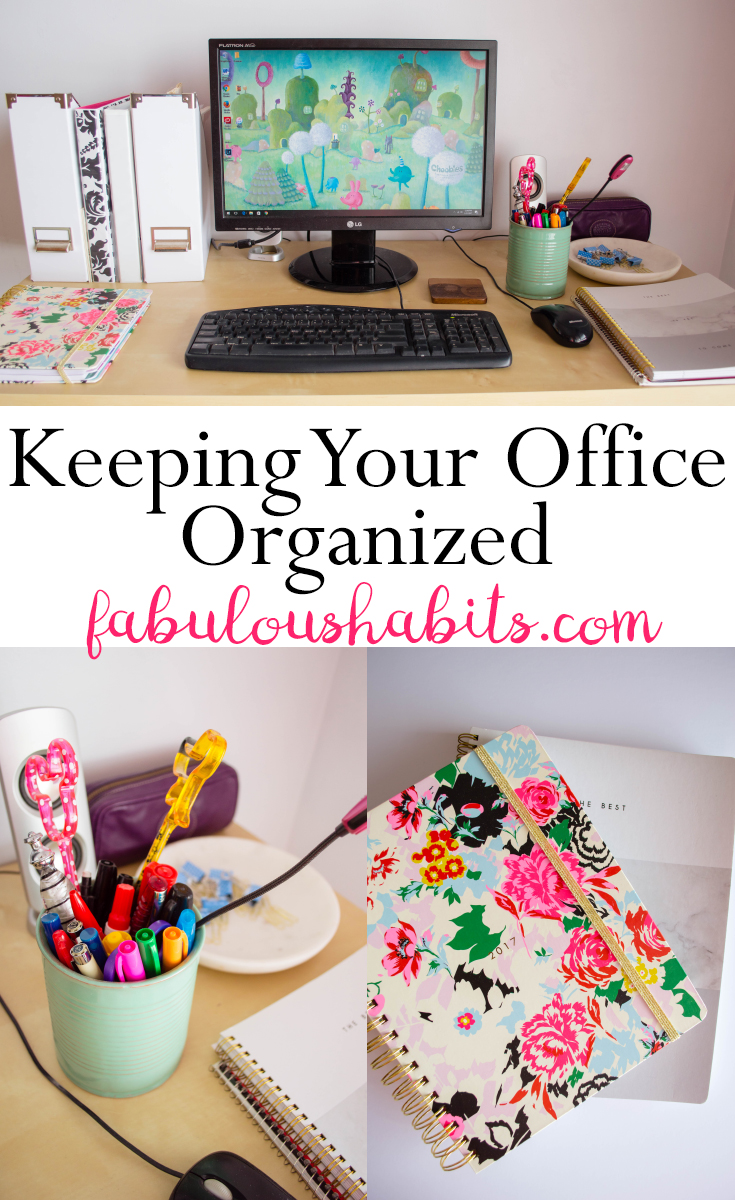 How to keep your office organized.
