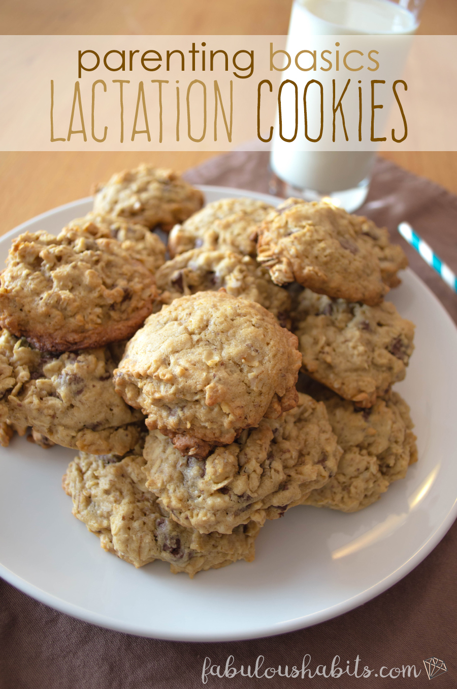 Lactation cookies that are delicious AND effective? Nursing win-win!