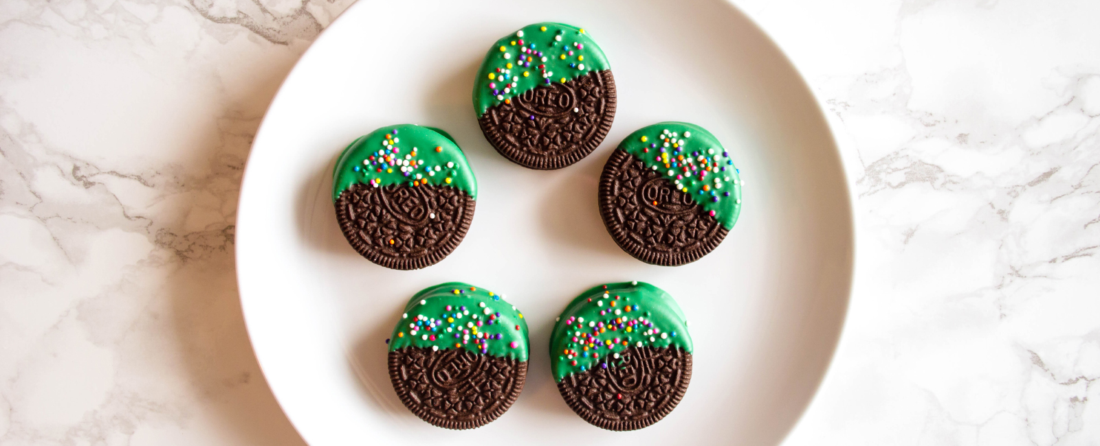 Lucky Oreo Medallions for St. Patrick's Day
