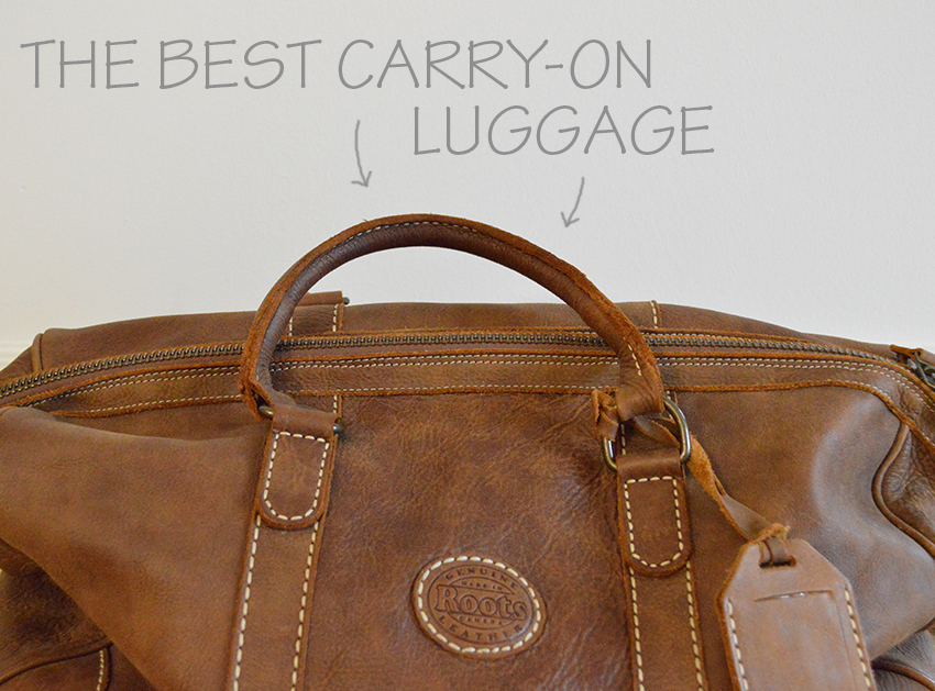 What in Your Purse?: Carry-On Luggage