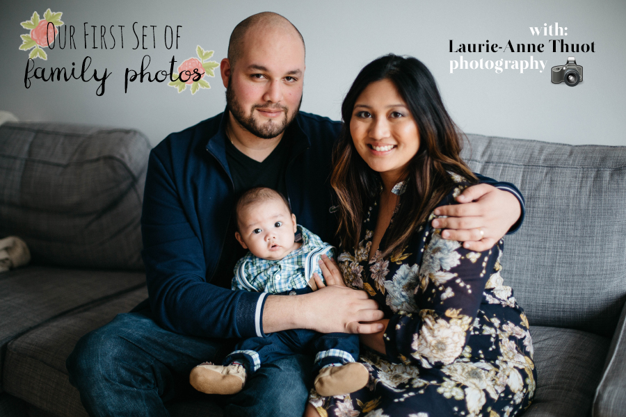 Laurie-Anne Thuot Photography brilliantly captured our first set of family photos