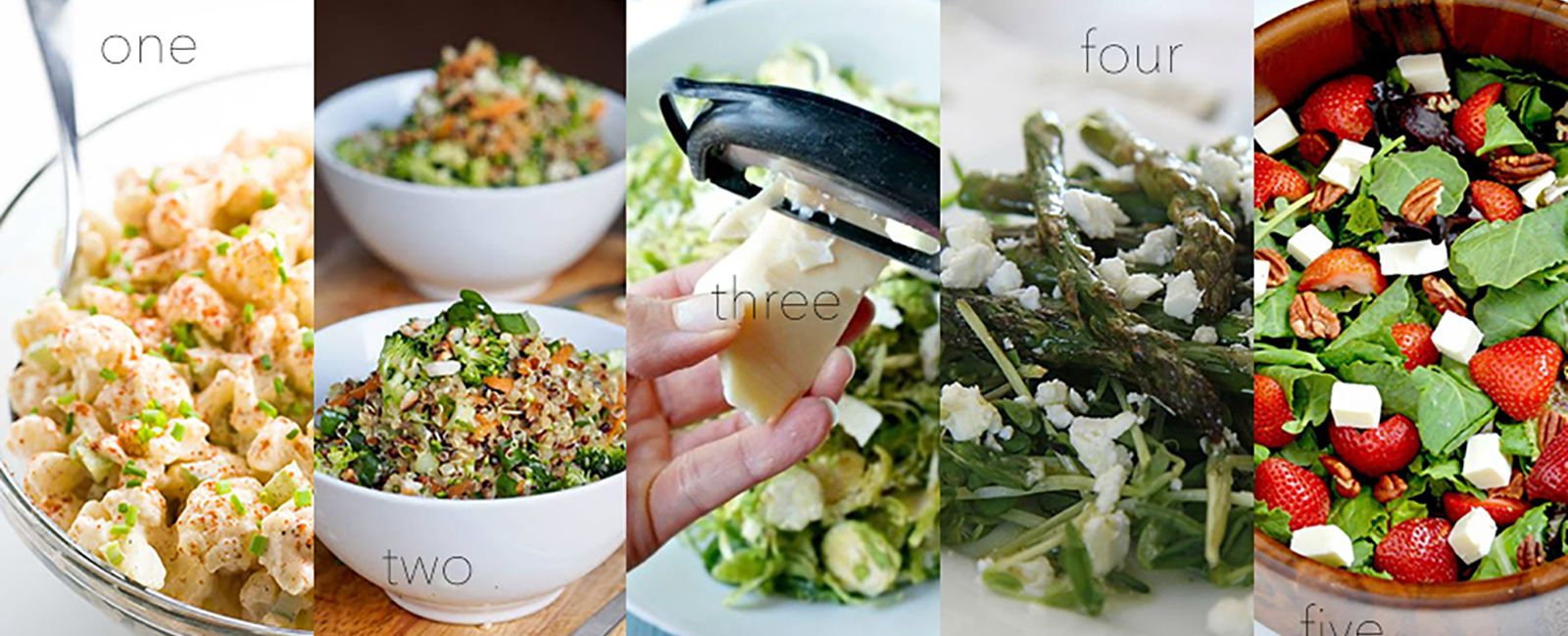 5 Delicious Salads for Your New Year's Resolution