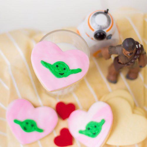 Yoda Sugar Cookies