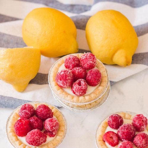 Raspberry Lemon Tarts