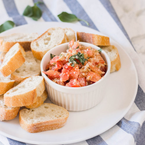 Easy Bruschetta Appetizer