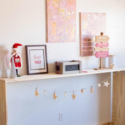 Christmas Garland with an Easy Salt Dough Recipe
