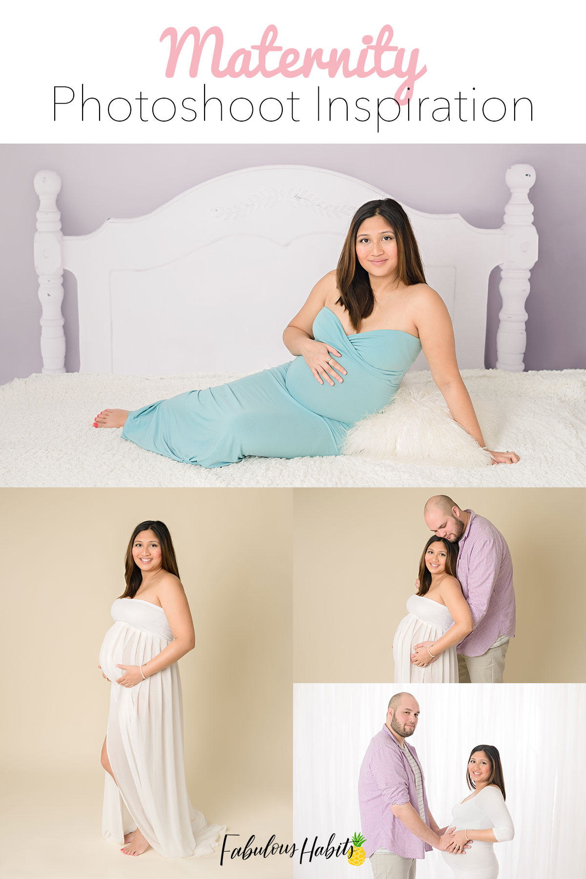 Pose ideas for your upcoming maternity photoshoot - capture the best moments with your fam!