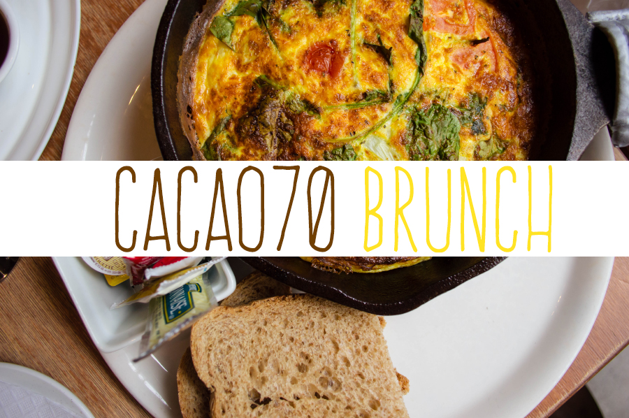 Enjoying the sweet and savory experience that Cacao70 has to offer!