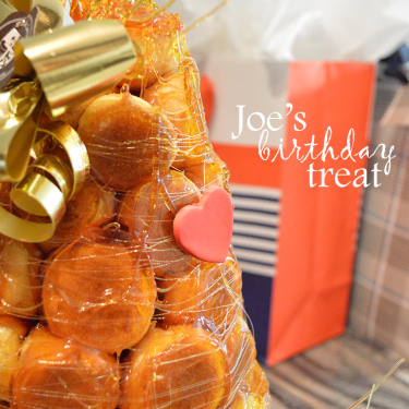Because a treat is what we look forward to most on our birthdays.