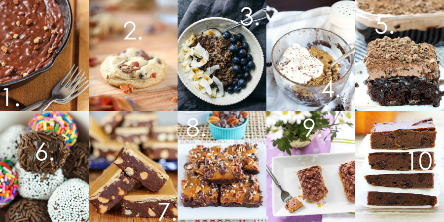 Is your sweet tooth begging you for some chocolate-y goodness? We've got some recipes to help out with that!