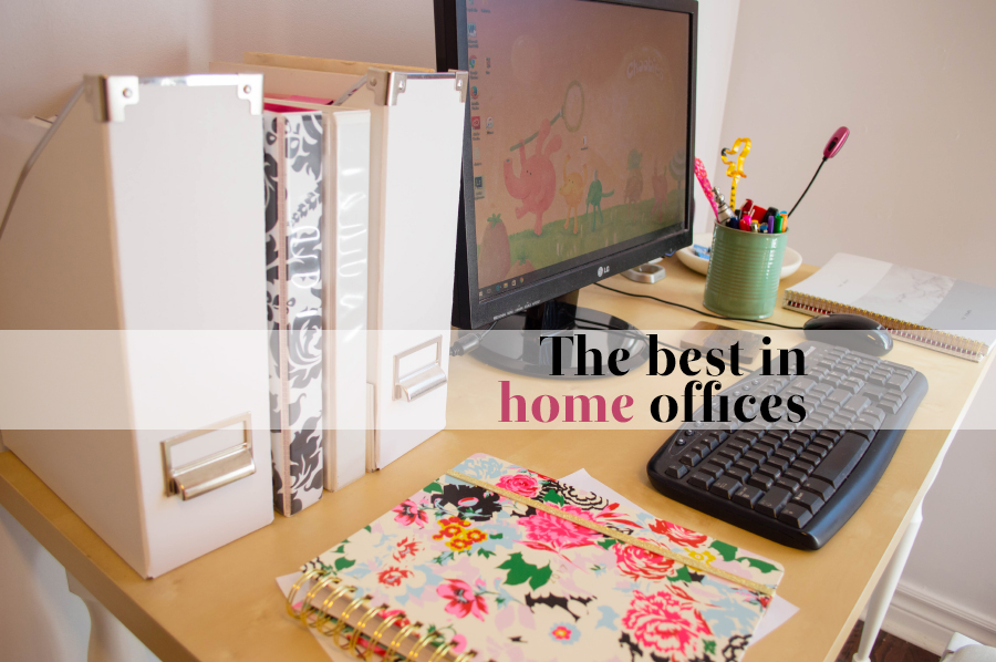 Five stylish home offices to draw inspiration from.