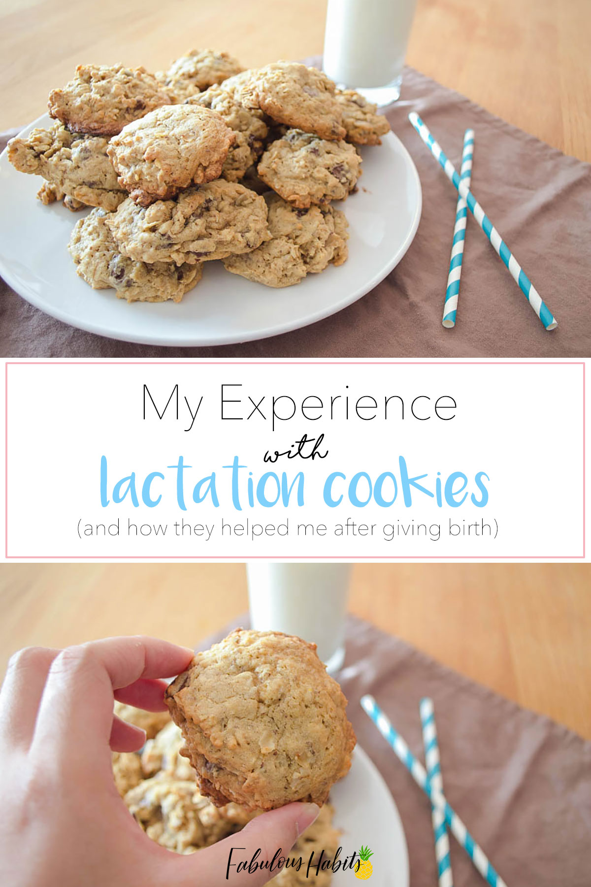 Here is a review on how lactation cookies helped boost my milk supply in the early months of being a new mom!