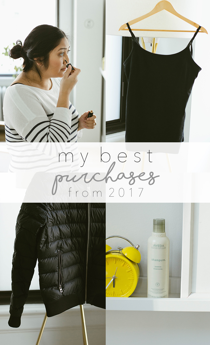 Here it is: my official list for the best purchases I made this year! Enjoy and we'll see you in 2018!
