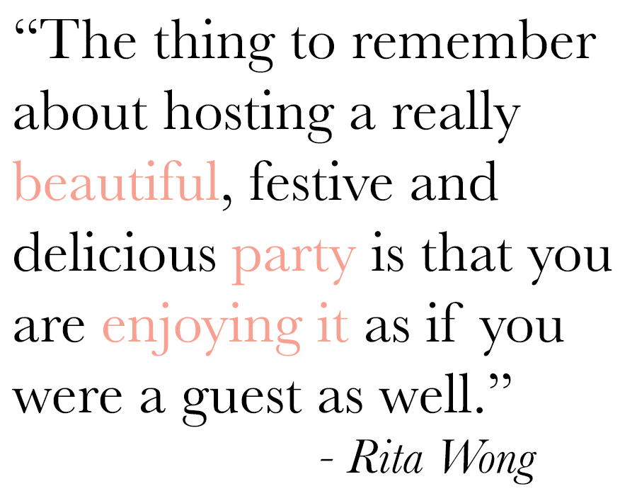 Be the hostess they all talk about with your next holiday cocktail party.