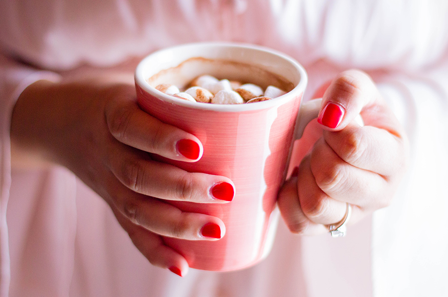 How do you hygge? We think homemade hot chocolate is SO hygge!