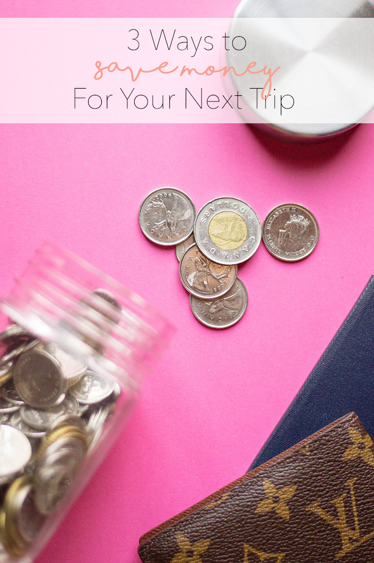 Easy ways to save money for your next vacation - because we all deserve a little getaway.