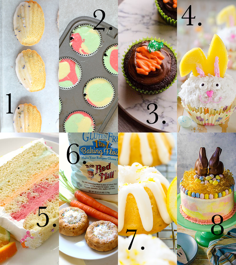 This year, make your sweets table one they'll remember. Here are 8 super cute Easter desserts that will have your guests talking about your party non-stop.