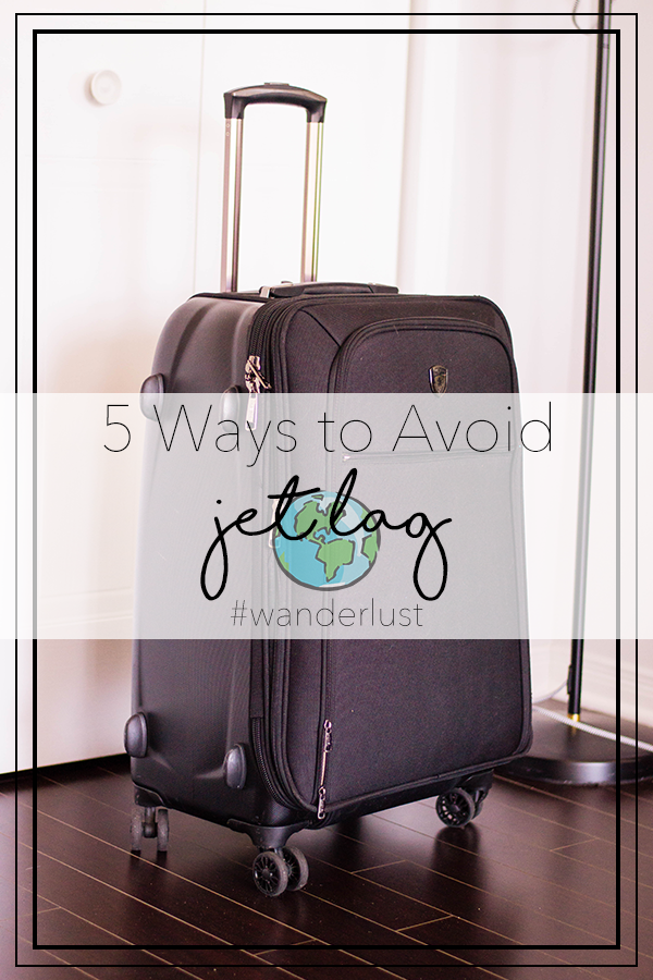 Though your wanderlust might be strong, is your tiredness from jet lag even stronger? Here are 5 ways to avoid it.
