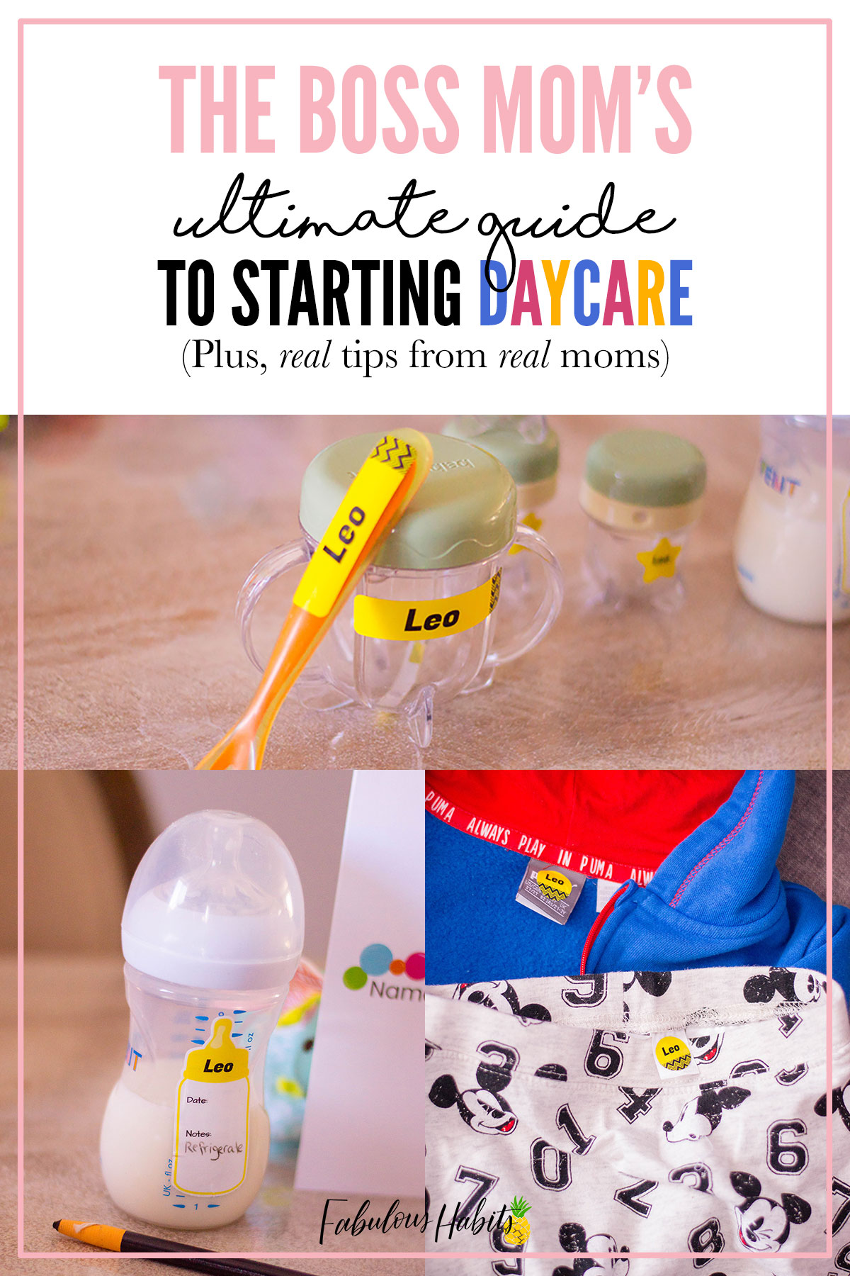 The transition to daycare doesn't have to be a scary one. We have real tips from real moms on their transition to daycare with their little ones. #preparingfordaycare
