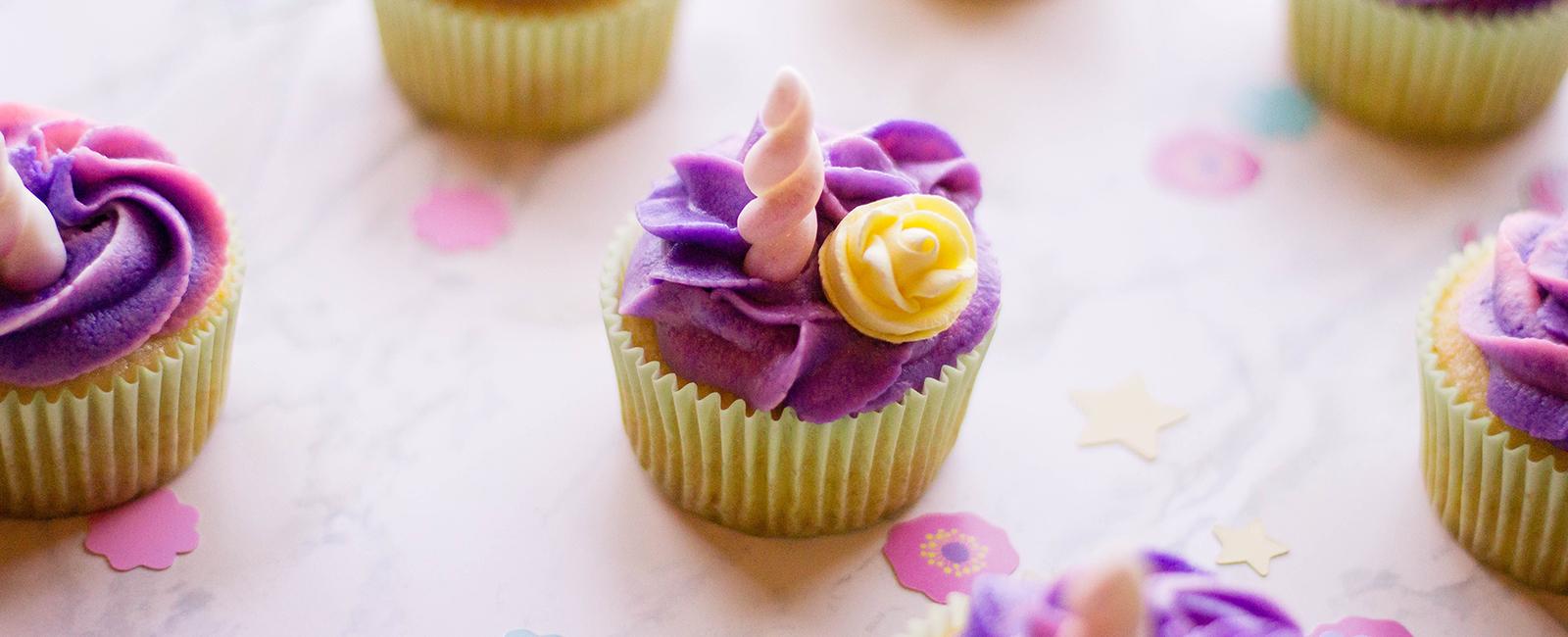 Unicorn-Themed Parties 101: The Unicorn Cupcake