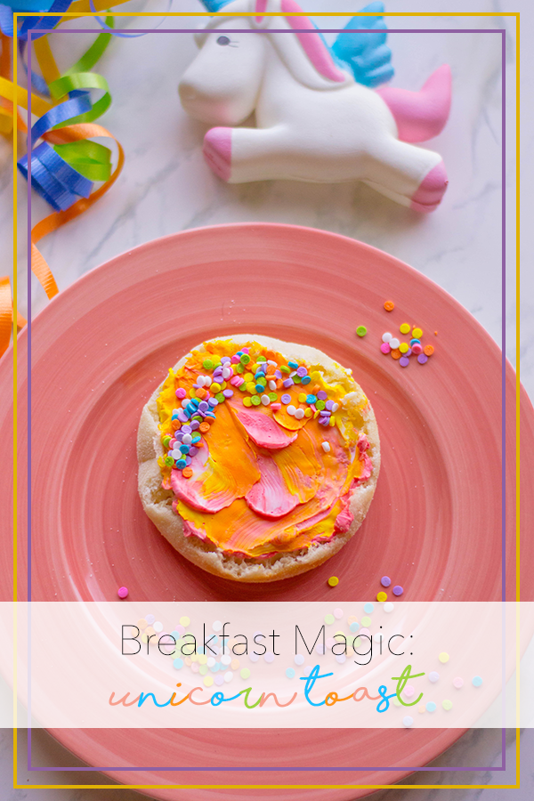 Who wouldn't love some unicorn magic to start their day? Here's our take on the oh-so-popular unicorn toast.