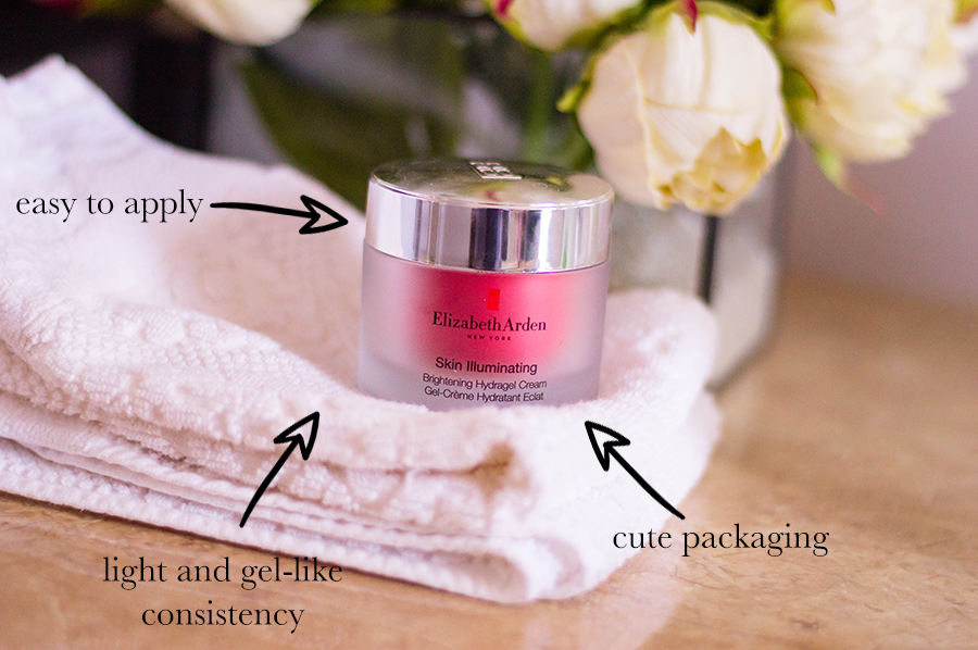 Testing out the Elizabeth Arden Skin Illuminating Brightening Hydragel Cream - our beauty guru tells it all.