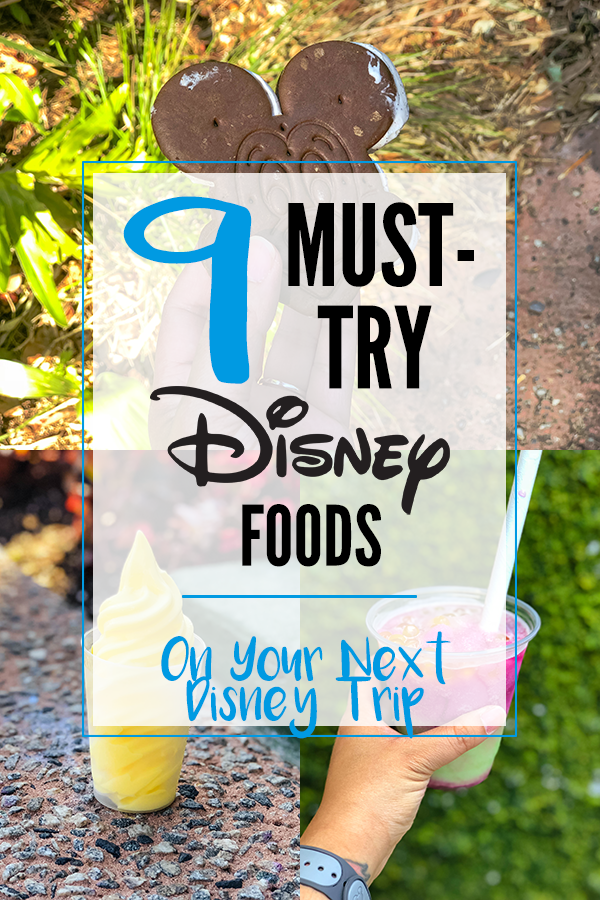 9 Must-Try Disney Foods on Your Next Disney Trip