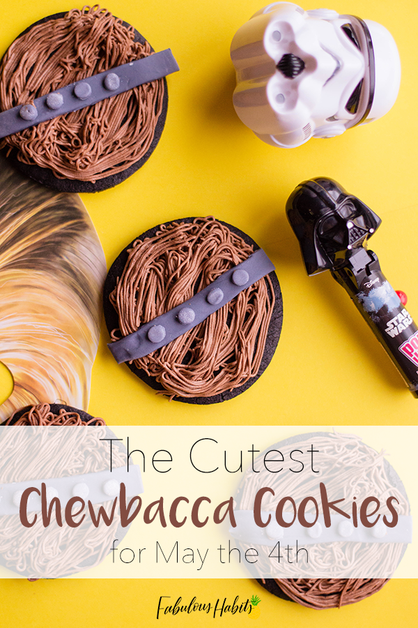 Can't you hear Chewbacca roar with these cookies? For #StarWarsDay, we present to you: the cutest Chewbacca cookies... ever! #Maythe4th #Chewbacca