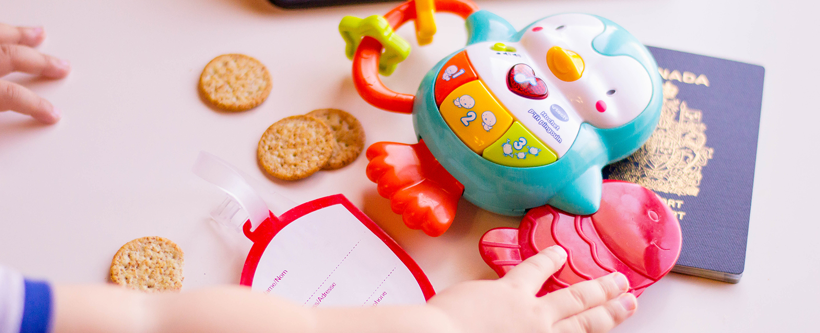 4 Items to Bring when Travelling with Toddlers