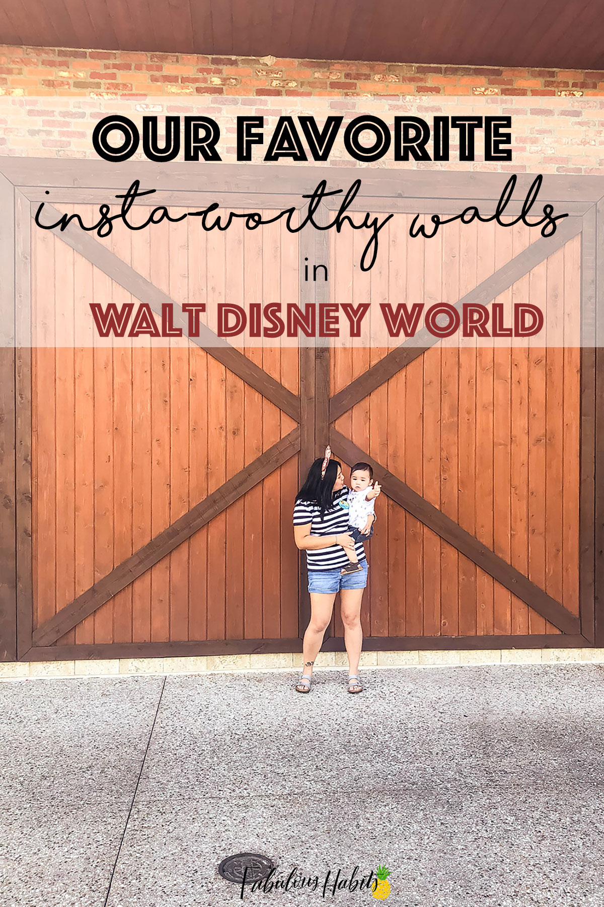 Here are a few spots in Walt Disney World that are totally worthy of your IG feed! Here are WDW's Insta-Worthy Walls!