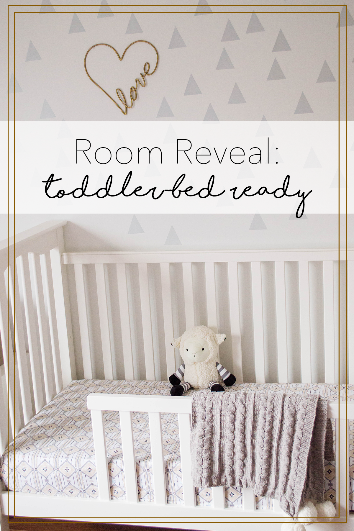Room Reveal Toddler Bed Ready How To Set Up Your New Toddler Bed