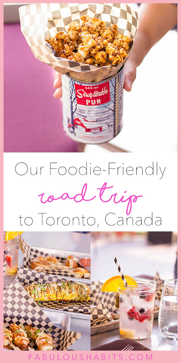 When our family decided to take a quick two-day road trip to Toronto, Ontario, we didn't think it would end up being a foodie-friendly vacation! Here's how we made the most of it and all the delicious dishes we encountered. #familyroadtrip
