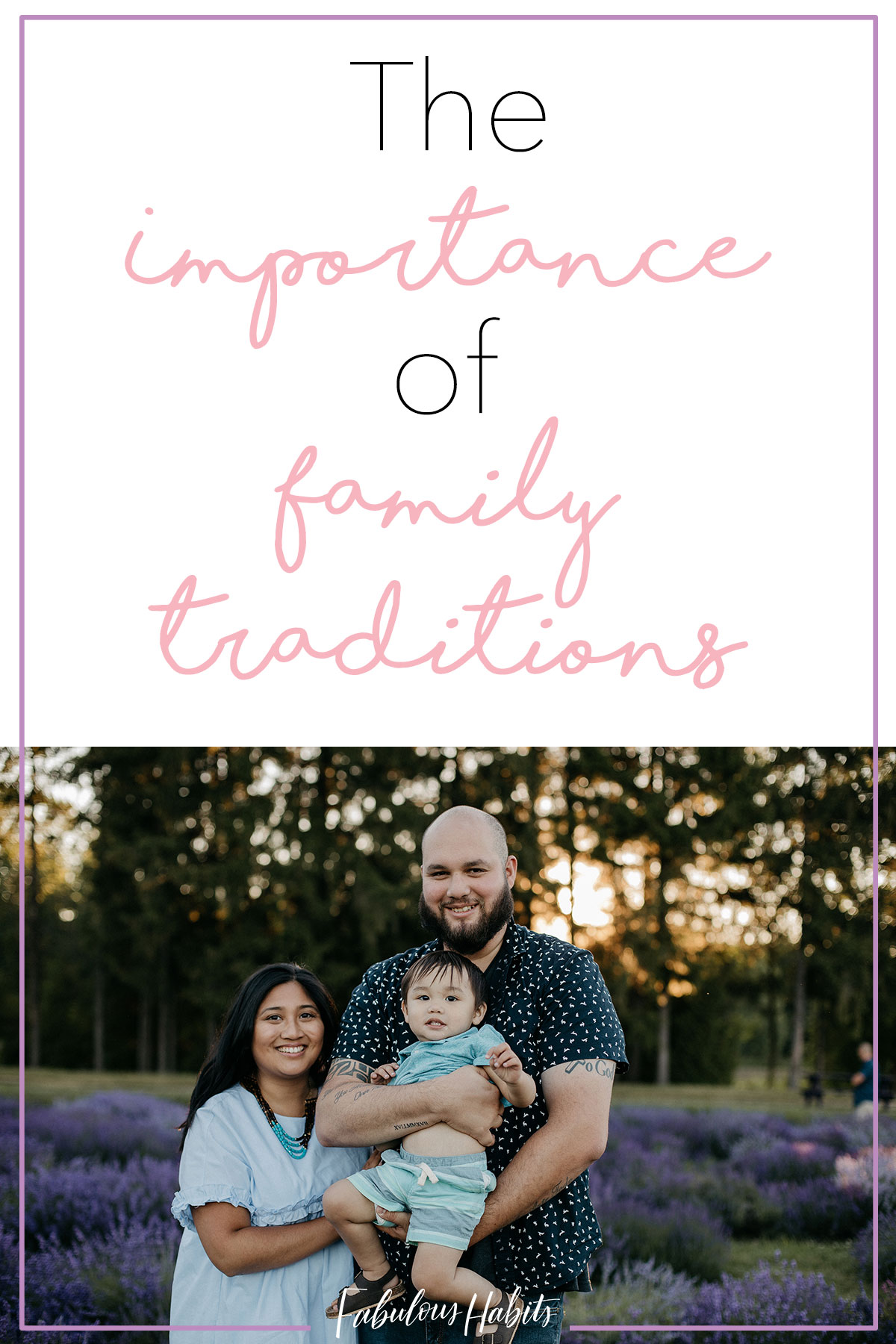 Upholding family traditions is so important because it helps create memories for you and your little ones. Here are some of our favorite traditions. #familytraditions