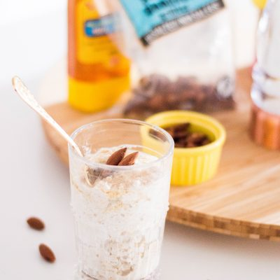 Almond Overnight Oats: An Easy Back-to-School Solution