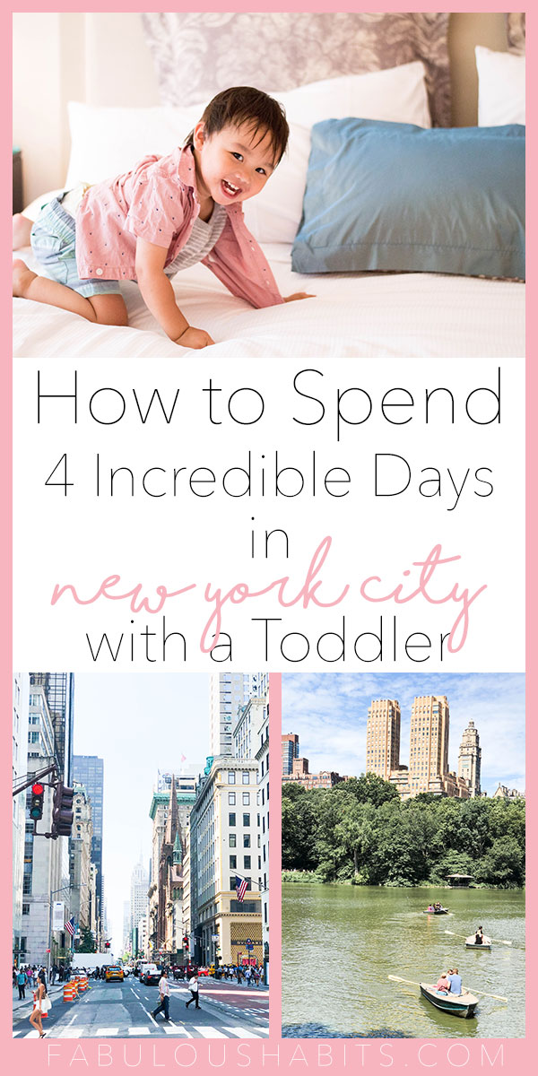 Travelling with your little one? Here's our family's 4 day New York City itinerary. It's possible to have an incredible time in NYC with a toddler! #nyctravel