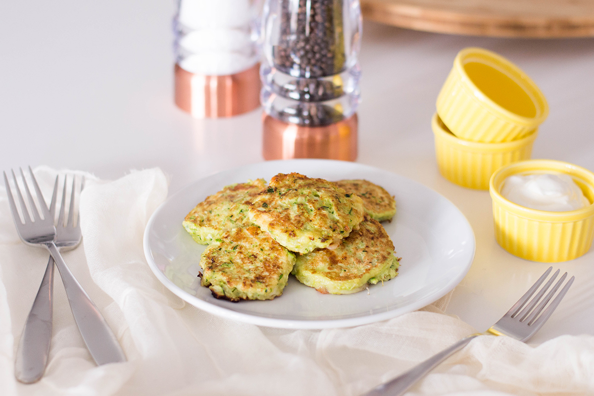 If you want to get more veggies on your family members' plates, then try out these delicious zucchini fritters.