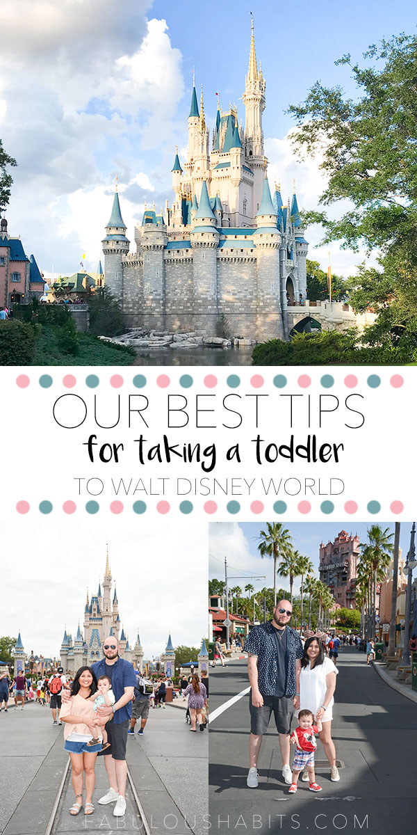 Going to Disney with toddlers is tons of fun! No need to be nervous! Your little ones will enjoy it and there are so many things to do! Here are our best tips for taking a toddler to Walt Disney World! #disneyvacation