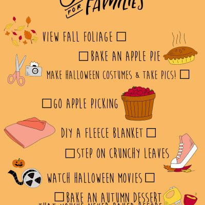 The Ultimate Fall Bucket List for Families (+ a Free Printable!)