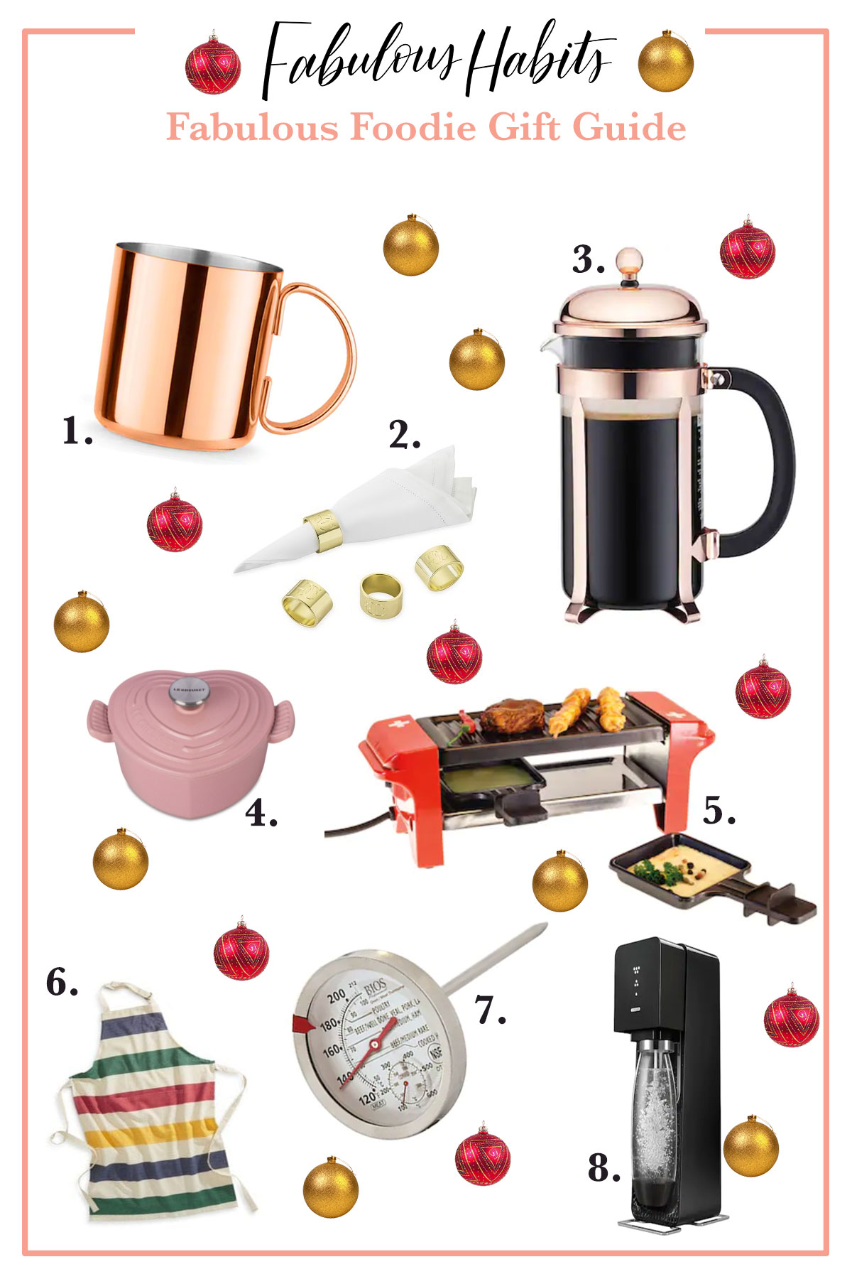 Our first gift guide of the year! This Foodie Gift Guide is a carefully-curated list of items perfect the budding chef in your life.